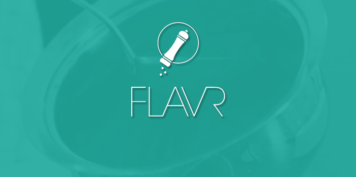 FLAVR - responsive web application for homemade food delivery