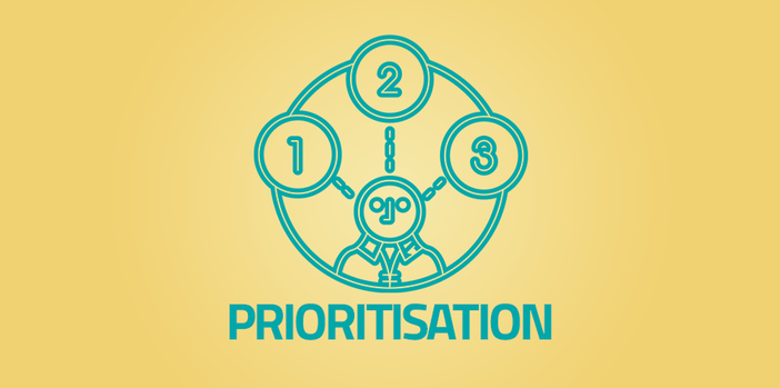 How to use prioritisation when working on web projects