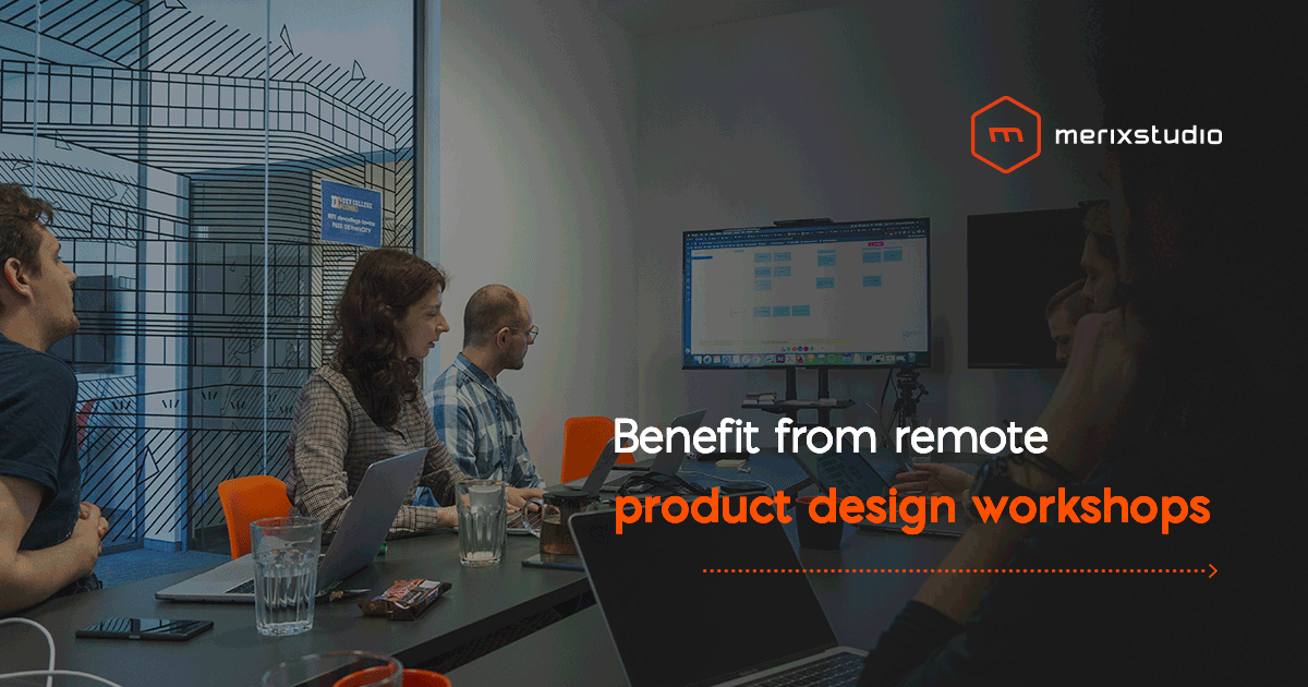 Remote product design workshops - how to benefit from online cooperation?