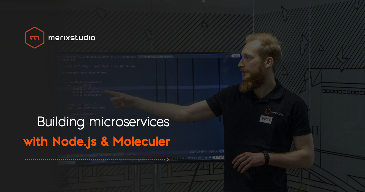 Building microservices architecture with Node.js and Moleculer