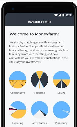 Moneyfarm app