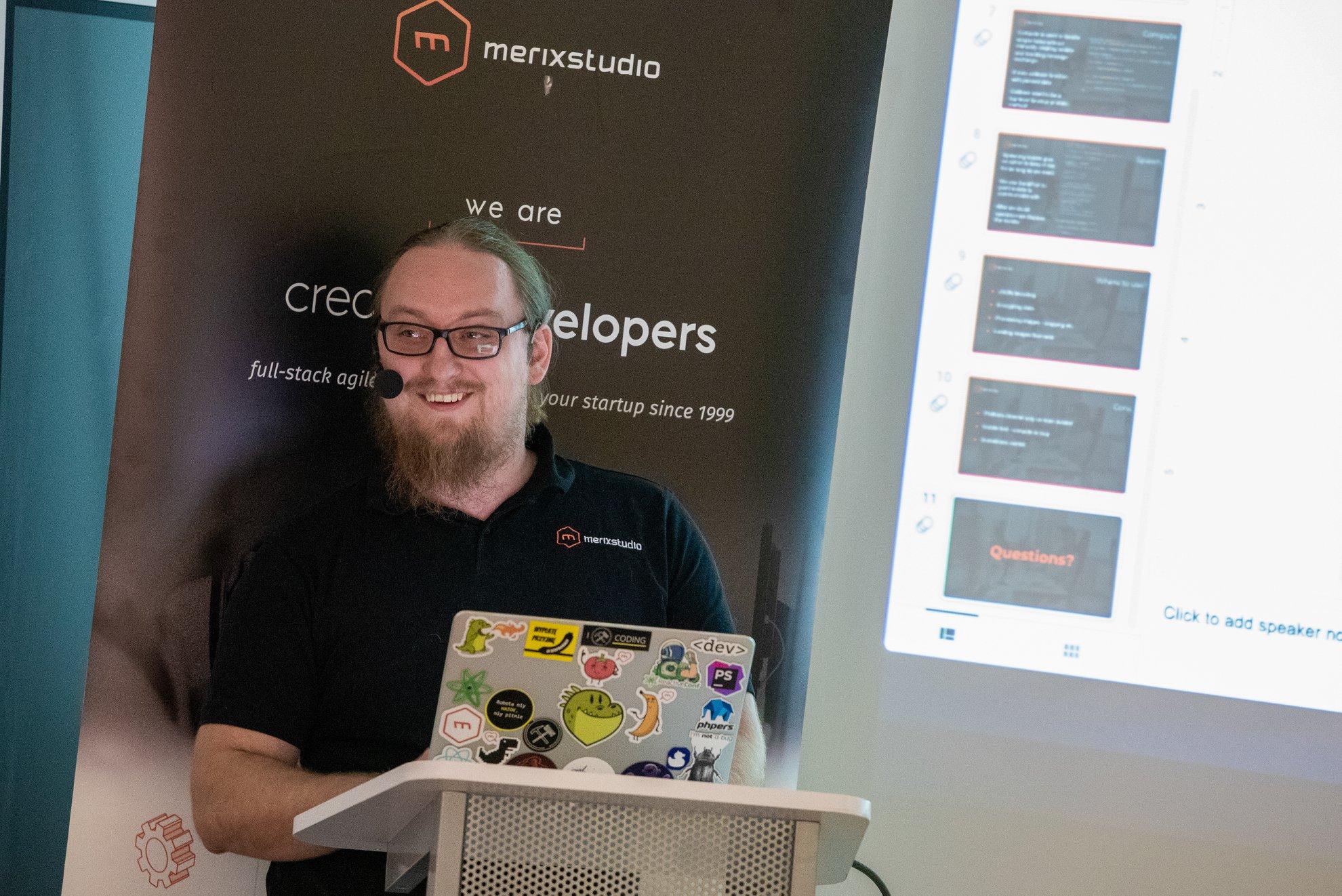 Merixstudio at Poznan Flutter Developer Group Meetup 2019