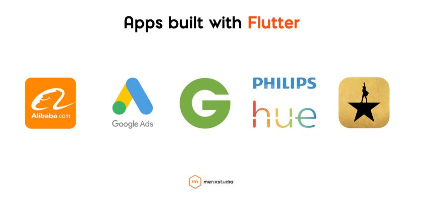Apps built with Flutter