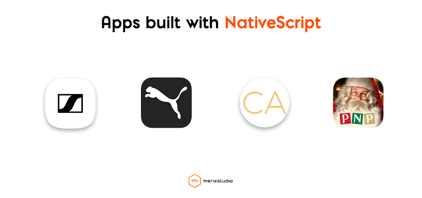 Apps built with NativeScript