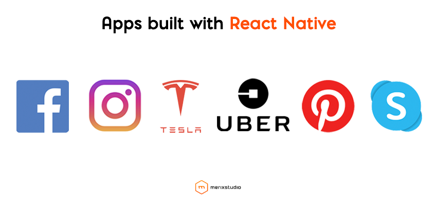 Apps build with React Natuve