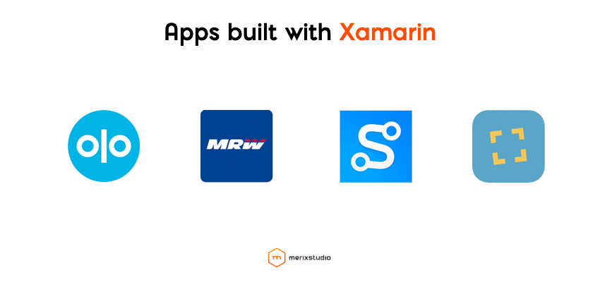 Apps built with Xamarin