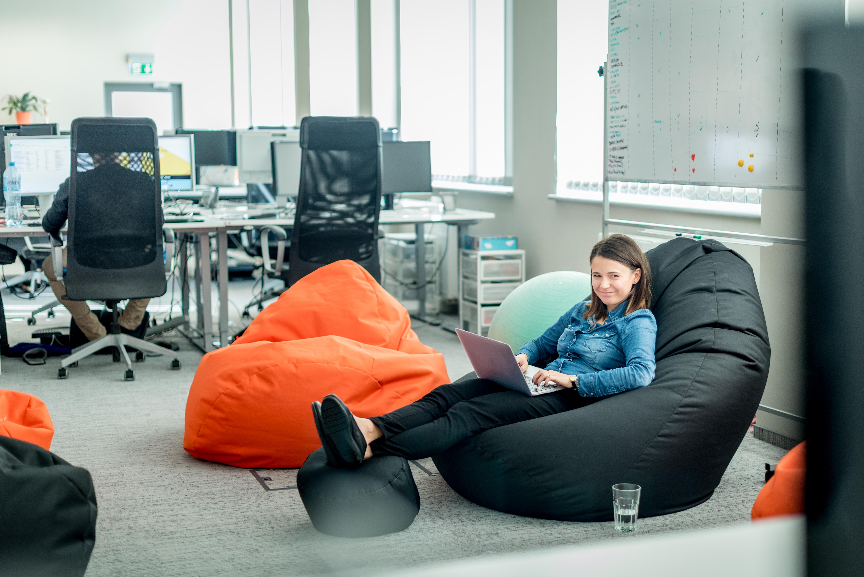 Merixstudio cozy office space