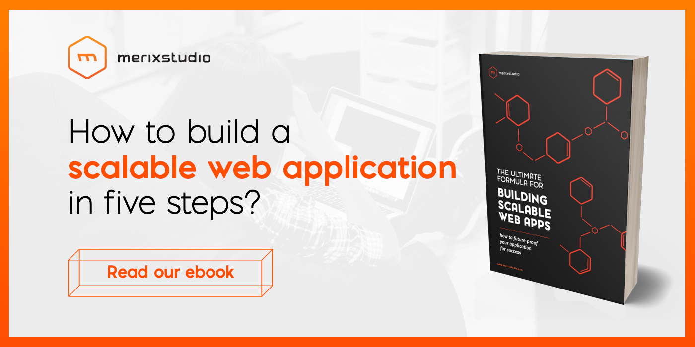 Scalable Web Apps | Merixstudio's ebook