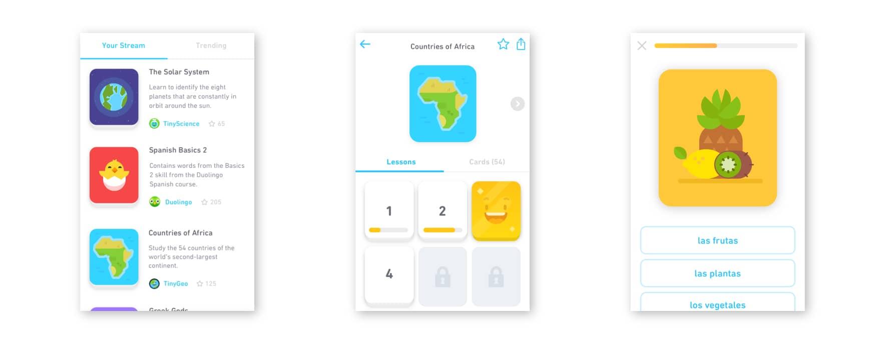 Duolingo's Tinycards