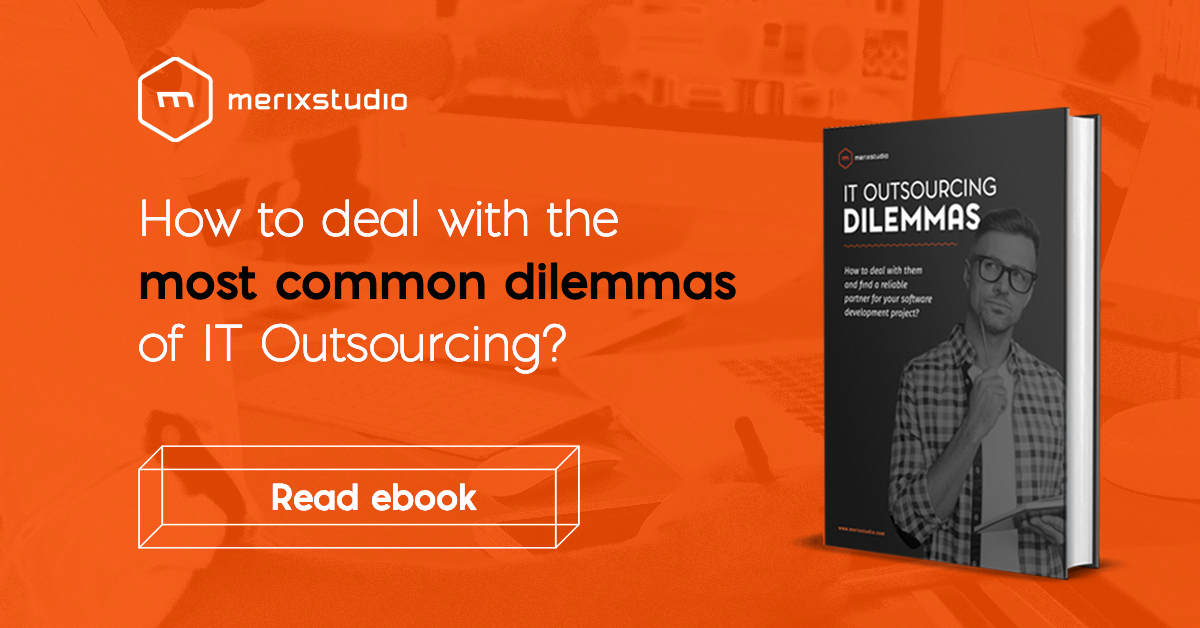 IT outsourcing ebook by Merixstudio