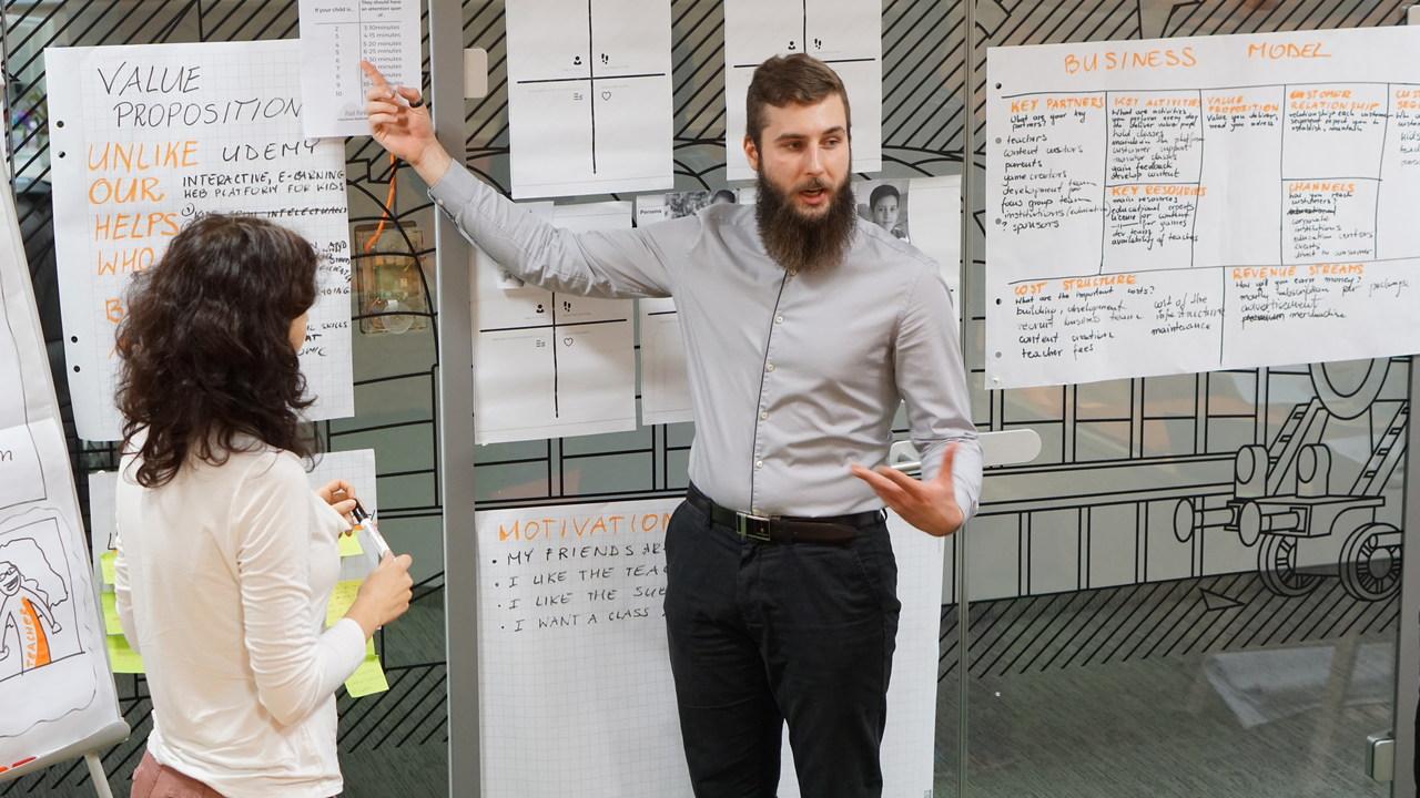 Startup leader