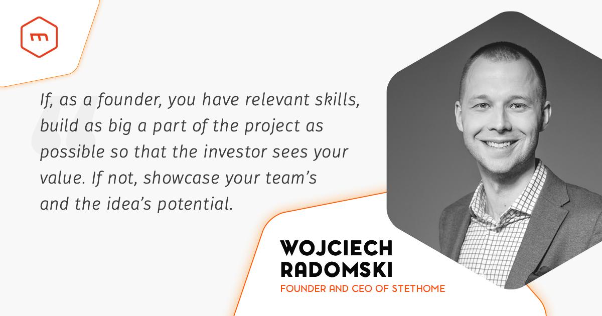 Interview with Wojciech Radomski (StethoMe)