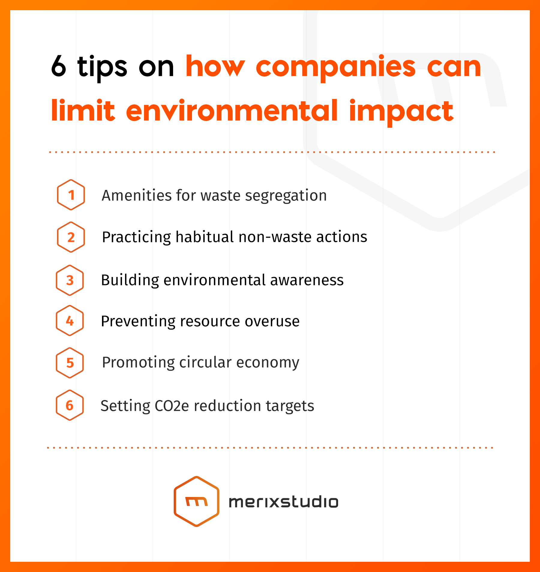 6 tips on how companies can limit environmental impact_Merixstudio
